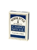 "Las Vegas Style® ""Casino Special"" Playing Cards Linen Finish"