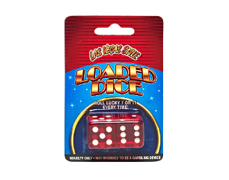 Las Vegas Style® Pair of Loaded Dice